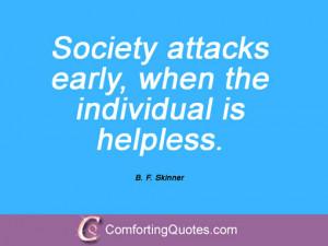 Skinner Quotations
