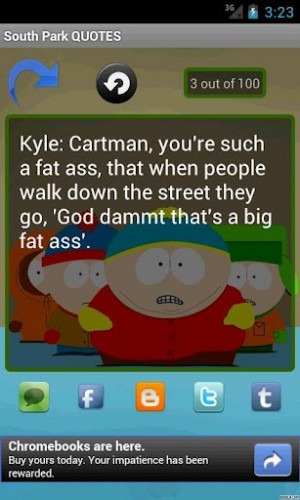 South Park QUOTES Screenshot 1