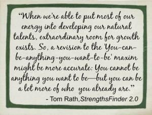 Tom Rath Quote