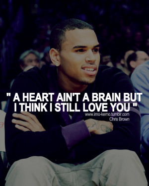 but, chris brown, cool, heart, love, music, nice, quote, saying, smile ...