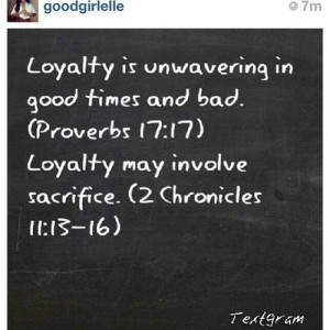 famous loyalty quotes