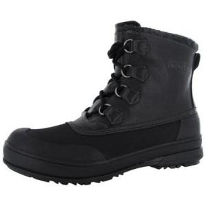 ... North Summit Mens Alamar-Terence Winter Hiking Boot, Black, US 11
