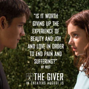 The Giver Movie Quotes