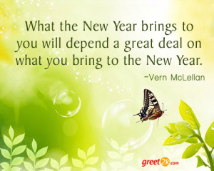 New Year Quotations