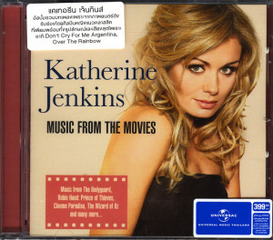 Katherine Jenkins Music from the Movies CD
