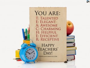 Happy Teachers Day 2014 Welcome Speech, Quotes in English