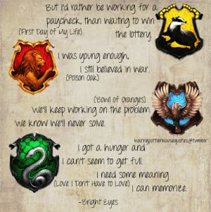 Slytherin House Quotes Harry potter # house quotes