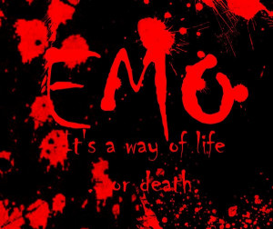 emo poems about death