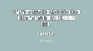 Early Morning Quotes