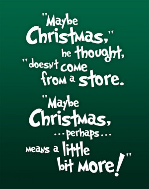 The Grinch Quotes Art the grinch quote by