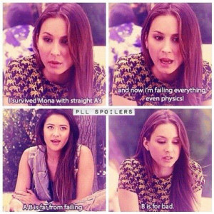 emily and spencer. PLL quotes ♥