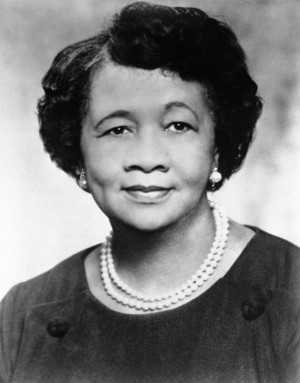 Height, National President of the National Council of Negro Women ...