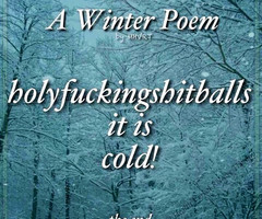 Go Back > Pix For > Freezing Cold Weather Quotes