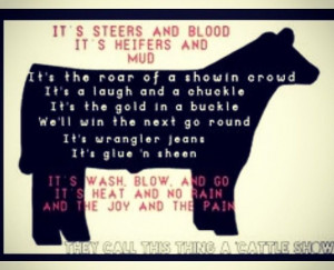 Cattle...this made me laugh and think of Eliza and Shane....