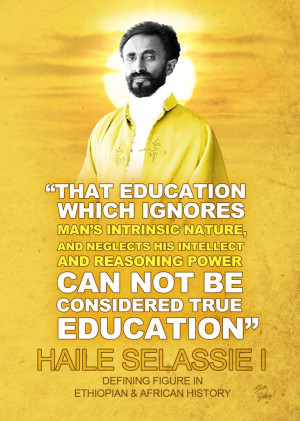 Haile Selassie Quotes Art...
