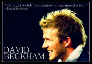 David Beckham Quotes Tumblr Football Wallpaper picture