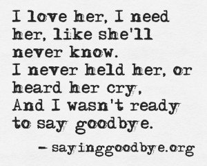 Loss #Grief # Cry #Baby #Miscarriage