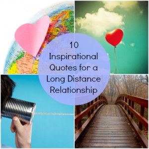 10 Inspirational Quotes for a Long Distance Relationship