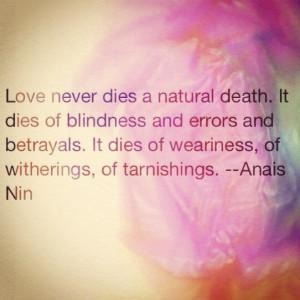 Anais Nin. Sure does!