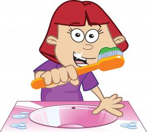 brush teeth - myc zeby