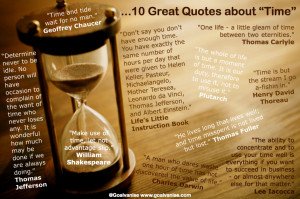 10 Great 'Time' Quotes