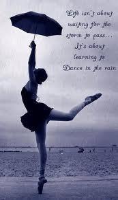 Poetry Dance in the Rain