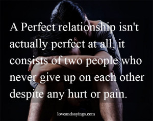 Two People Two Never Give Up On Each Other