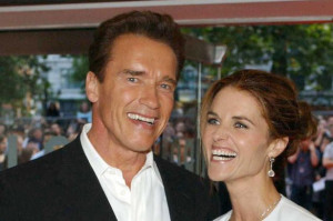Photo: Arnold Schwarzenegger's wife Maria Shriver 'cheated on him ...