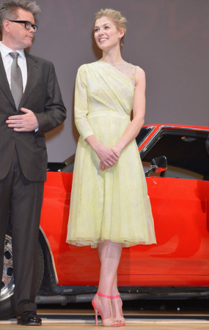 Actress Rosamund Pike atends the 'Jack Reacher' Japan Premiere at ...