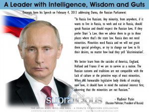 based, vladimir, putin, leader, russia, president, quote, minorities