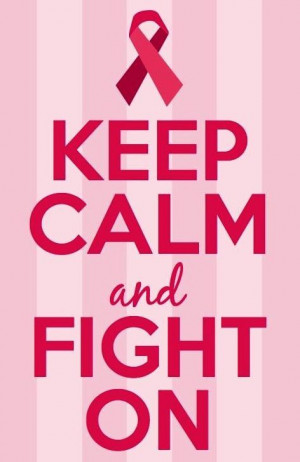 calm and fight on