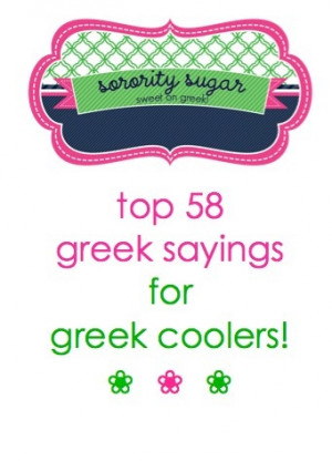 add a fun & sassy quote to your greek cooler design! Non-, Crafts ...