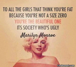 Beauty Quote: To all the girls that think you're...