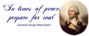Inspirational Great Quote: General George Washington