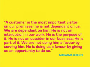 Inspirational Customer Experience Quotes Part Two screenshot