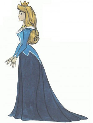 fyeahprincessaurora:Art by Marc Davis