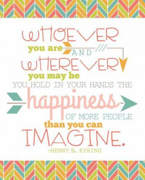 President Henry B. Eyring   Popular quotes from April 2014 LDS general ...