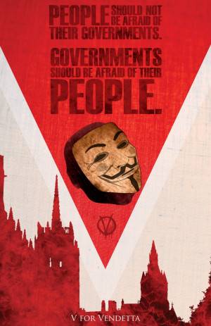 for Vendetta: Fantasy Movie Poster - 11x17 Vintage Art Print/ Modern ...