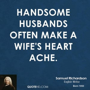 Samuel Richardson Wife Quotes