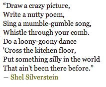 shel silverstein quotes for nursery walls