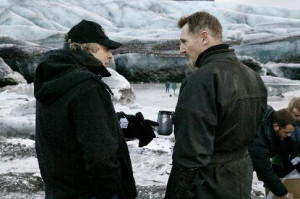 ... neeson charles roven still of liam neeson and charles roven in batman