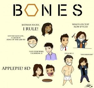 Bones Bones cast Chibi's