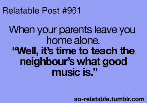 funny quote music quotes home alone parents relate funny posts ...