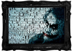 Quotes The Joker Funny World Wall Murals