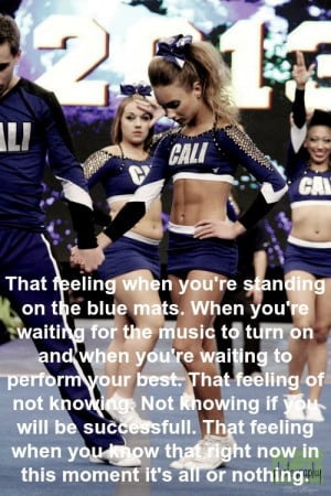 , cheer, cheerleading, competition, gabi butler, performance, quote ...