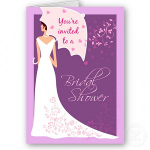 Tips about Writing Bridal Shower Cards