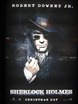Upcoming Movies 'Sherlock Holmes' Movie Poster