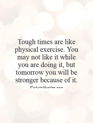 Stronger than You Know Quote