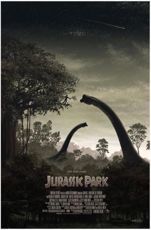 New Jurassic Park movie poster by JC Richard on sale details