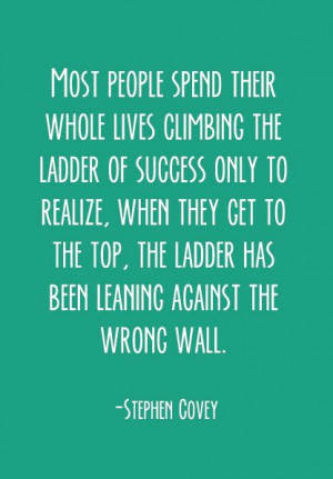 Steven-Covey quote on Success